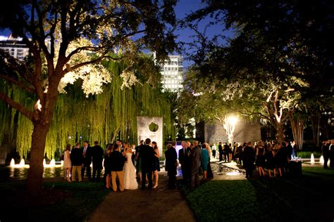 wedding reception halls in dallas dallas wedding reception nasher sculpture center elizabeth designs the wedding