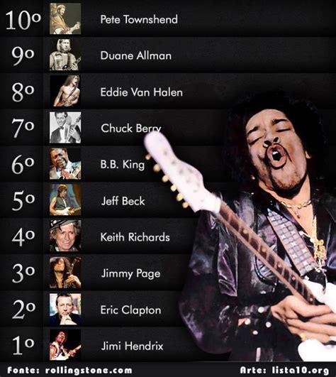los 30 mejores guitarristas de la historia del rock rock os 10 maiores guitarristas da hist 243 ria