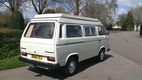 beautiful vw t25 autosleeper volkswagen cer and