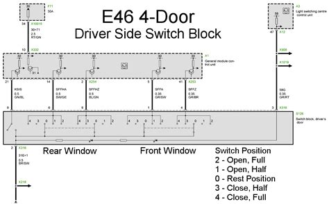bmwgm5 e46 front window switch