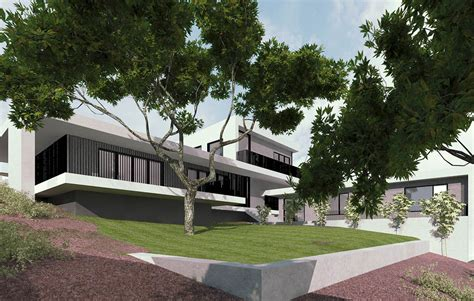 sloping block luxury living homes