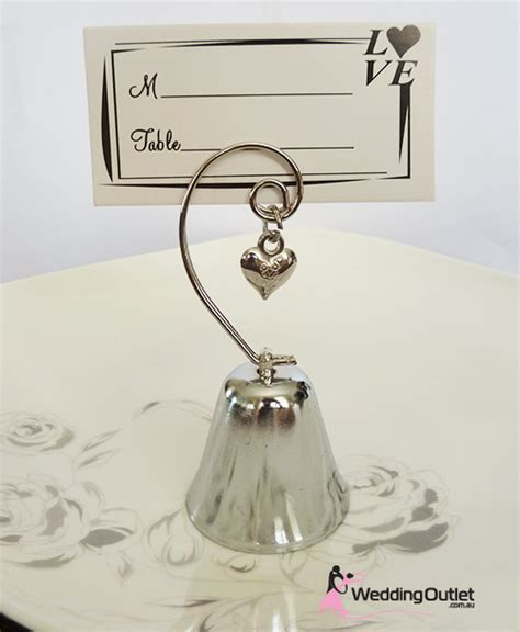 Wedding Bell Name by Bell And Name Card Holder Wedding Favours
