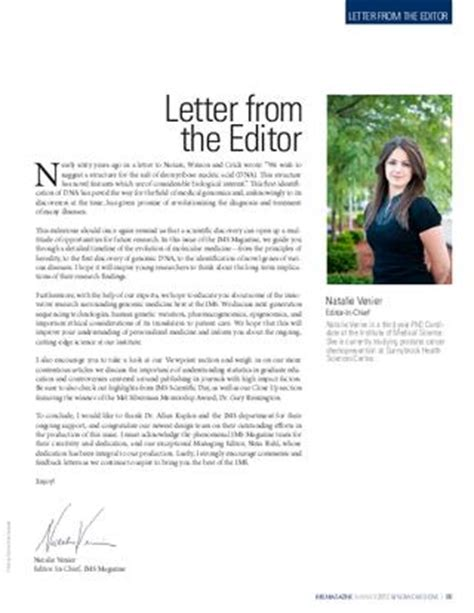 layout of letter to the editor ims magazine summer 2012 by ims magazine issuu