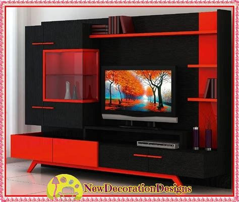 contemporary lacquered tv wall units with white theme in modern lacquered tv wall units and red tv unit designs