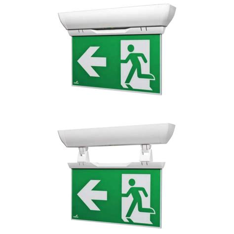 cooper lighting exit signs cooper lighting velos emergency exit sign ebay