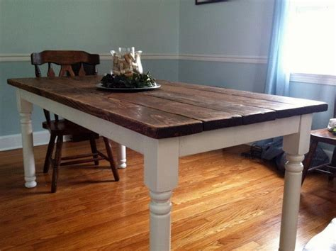 how to build a wood dining table how to build a vintage style dining room table yourself