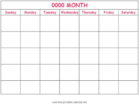 printable editable calendar my blog