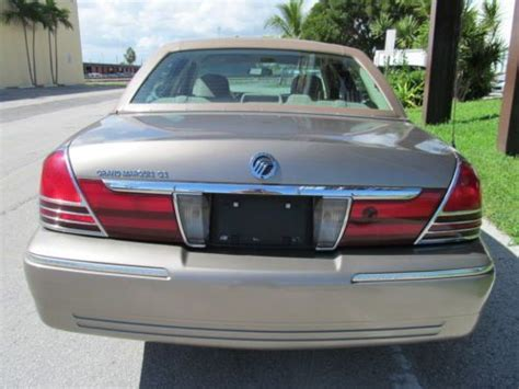 books on how cars work 2005 mercury grand marquis windshield wipe control purchase used 2005 mercury grand marquis presidential in hallandale florida united states