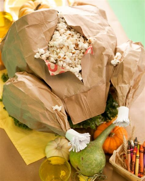 How To Make A Paper Bag Turkey - paper bag turkey martha stewart
