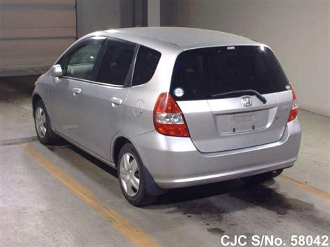 honda fitjazz silver  sale stock   japanese  cars exporter