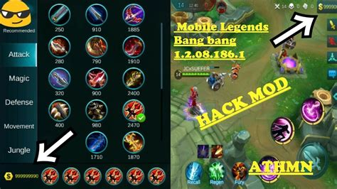 mods for android mobile legends 1 2 08 186 1 apk mod for