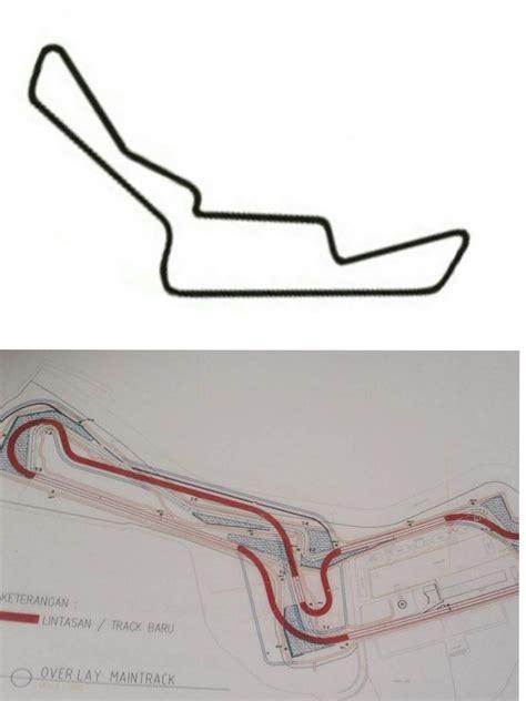 layout renovasi sirkuit sentul bocoran desain sirkuit sentul yang baru semakin siap