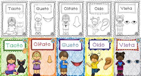 imagenes infantiles sobre los sentidos maravillosos dise 241 os para ense 241 ar y aprender sobre los