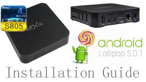 Tutorial Android Lollipop 5 1   mxq amlogic s805 android 5 1 1 lollipop installation