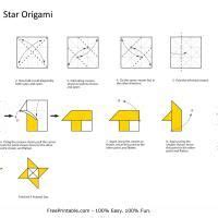 How To Make An Origami Shuriken - shuriken origami en origami club http www ikuzoorigami