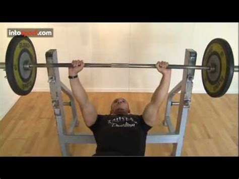 correct bench press technique perfect bench press technique youtube