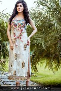 best party wear embroidered dresses designs 2017 2018
