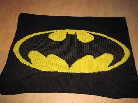 free crochet pattern batman logo batman logo blanket crochet projects pinterest