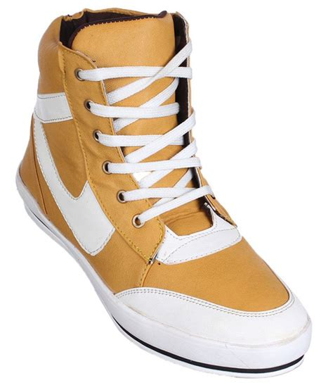 kraasa stylish yellow casual shoes price in india buy