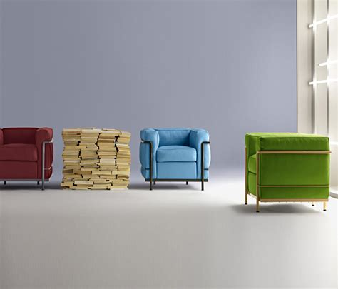 fauteuil lc2 lc2 maison la roche lounge chairs from cassina architonic