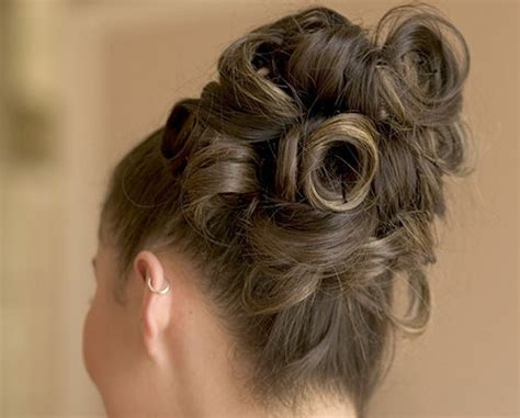 Pin Curls Updo Hairstyles by 3 Really Easy Ways In Which You Can Create Spunky Pin Curls