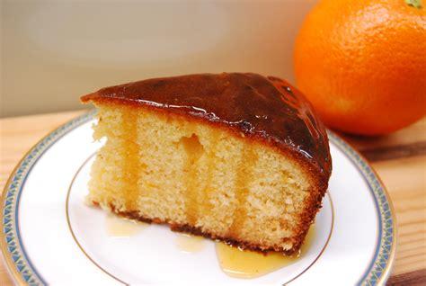 fragrant orange cake with spiced golden syrup