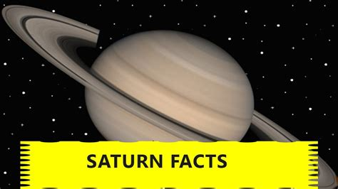 fact about saturn saturn facts for facts about the planet