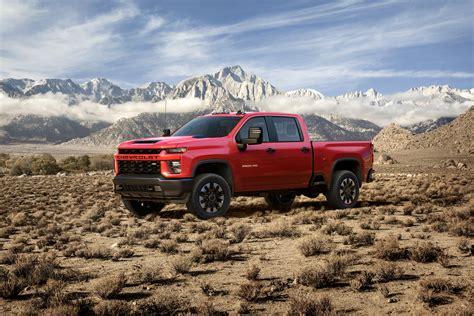 2020 chevrolet truck images 2020 chevrolet hd 2500 3500 trucks revealed truck