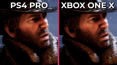 Painting Xbox One X by 4k Dead Redemption 2 Ps4 Pro Vs Xbox One X