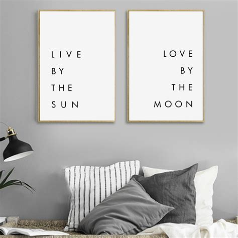 live by the sun love by the moon tattoo live by the sun by the moon posters 2 variations