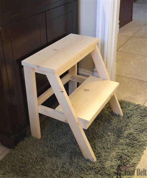 Diy Child Step Stool by Kid S Step Stool Tool Belt