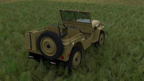 Jeep Chassis W Chassis Jeep Willys Mb Desert Hdri 3d