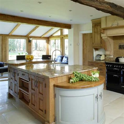 country kitchen island ideas large open plan country kitchen kitchens kitchen ideas
