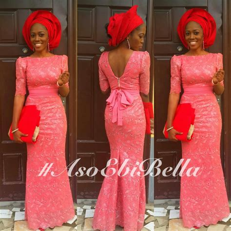 lace styles by bella yomisummerhues makeup and gele by her trad pinterest