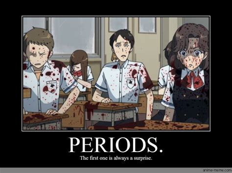On My Period Meme - periods anime meme com