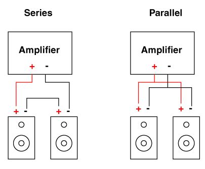 series parallel switch wiring diagram speakers series