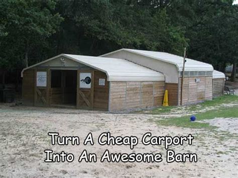 Turning A Carport Into A Garage by 25 Best Ideas About Cheap Carports On Garage