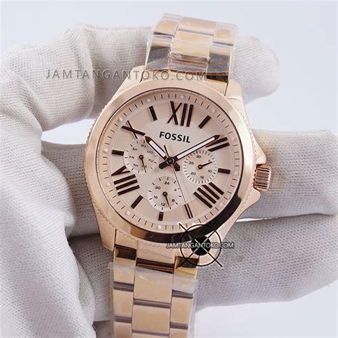 Sale Jam Tangan Wanita Fossil Ls1260 Silver Plat Black gambar kelengkapan pembelian jam tangan fossil