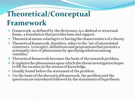 dissertation theoretical framework theoretical and conceptual framework for thesis 28