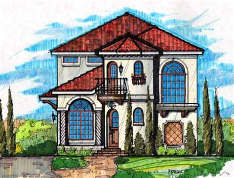 Two Story Florida House Plans by Florida Style House Plans 2551 Square Foot Home 2