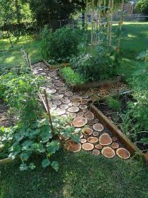 Garden Pathways Ideas 7 Creative Ways Of Turning Wood Logs And Tree Stumps Into Unique Accessories
