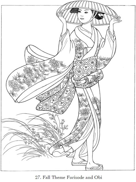japanese and designs color by numbers coloring book for adults an color by number coloring book inspired by the beautiful culture of japan color by number coloring books volume 23 books childhood education japanese kimono coloring pictures