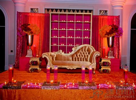 wedding home decorations indian stage for indian wedding reception shaadibazaar