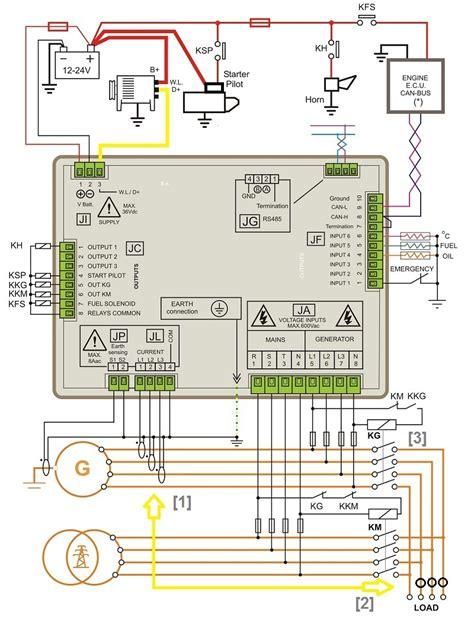 kohler 20kw generator wiring diagram wiring diagram with