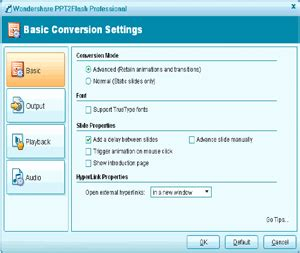 Ppt To Flash Converter Convert Ppt To Flv Ppt To Swf Wondershare Ppt2flash