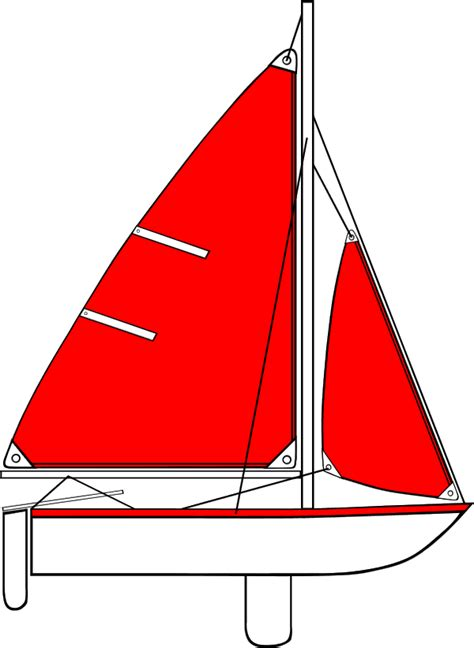 red boat clipart red