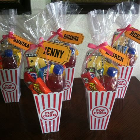 movie themed games movie birthday favors crafts pinterest favors