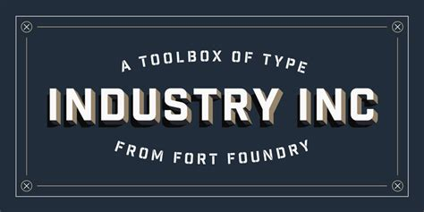type foundry of the month fort foundry papercut interactive