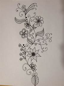 how to draw a doodle flower best 25 doodle flowers ideas on floral doodle