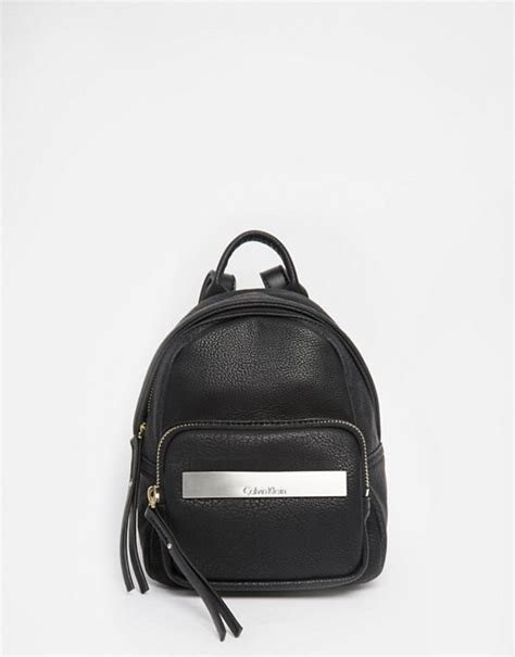 Ck Bag Backpack Black Ck20 calvin klein calvin klein mini backpack